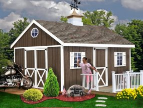 Best Barns Easton 12 x 16 Shed Kit
